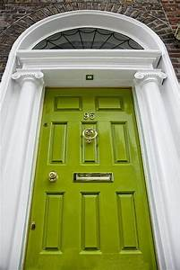 bright green doors front door freak