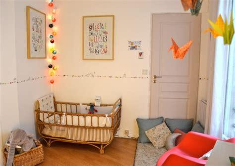 chambre b and b chambre bébé on mise sur la guirlande lumineuse