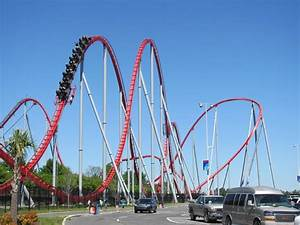 Intimidator photo from Carowinds - CoasterBuzz