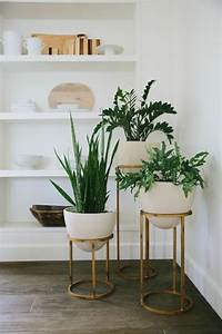 Mid century plant stands home decor