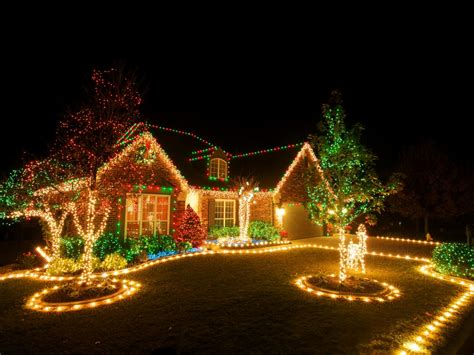 easy outdoor christmas light ideas home lighting design
