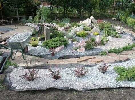 Steingarten Gestalten Ideensteingarten Anlegen Gestalten