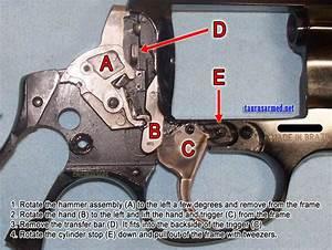 Taurus Revolver Disassembly