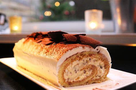 pancakes hervé cuisine recette de fêtes la bûche tiramisu par hervé cuisine