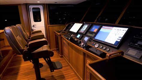 yacht steel seas tri deck motor boats