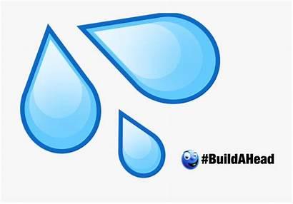 Emoji Water Splash Drop Transparent Clipart Droplet