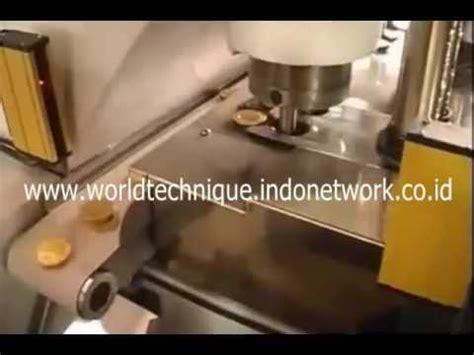 mesin stamping coklat koin youtube