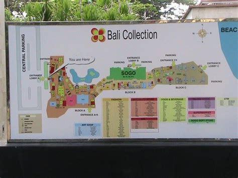 map picture  bali collection nusa dua tripadvisor