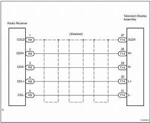 Toyota Sienna Service Manual  Sound Signal Circuit Between