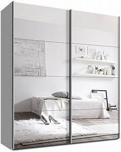 Kleiderschrank Weiß 200 Cm : kleiderschrank mit spiegelt ren ~ Bigdaddyawards.com Haus und Dekorationen