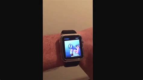 Apple Watch Hack. Watch movies on your Apple Watch - YouTube
