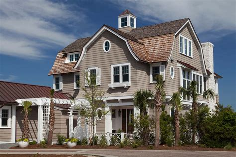 Beach House : Breathtaking Shingle Style Beach House In Watersound, Florida