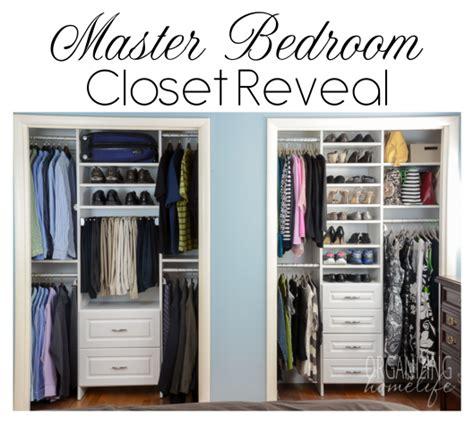 Master Closet Organization Ideas by Master Bedroom Closet Organization The Reveal