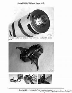 Honda Xr50 Crf50 Motorcycle Cyclepedia Printed Service Manual