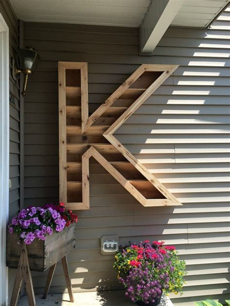 letter planter diy projects