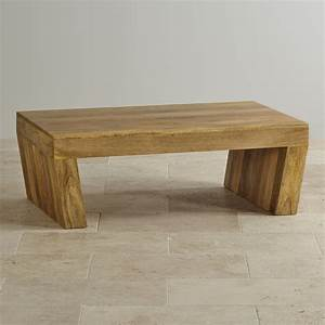 mantis light natural solid mango coffee table with angled legs With angled coffee table