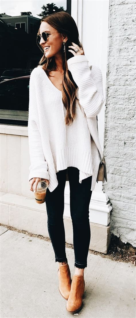 chic  stylish fall outfits ideas