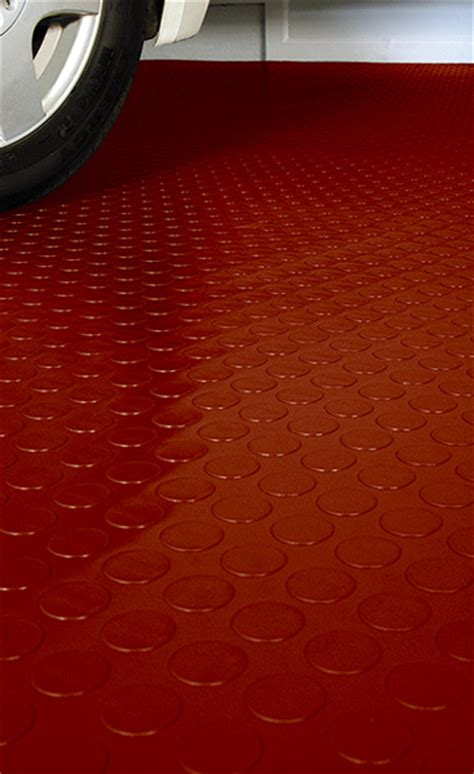 coin pattern garage flooring  coin pattern roll