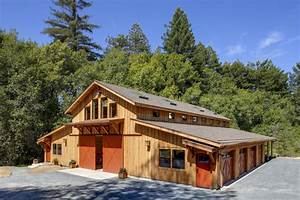 sonoma barn With barnhouse exteriors