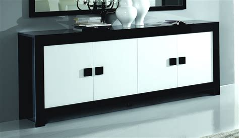 canaper noir et blanc best buffet noir et blanc contemporary design trends