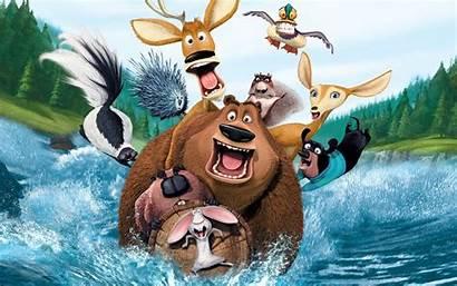 Open Season Wallpapers Widescreen Cartoon Movies Funny