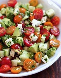 Idée Recette Saine : recette minceur salade saine salade fra cheur 11 ~ Nature-et-papiers.com Idées de Décoration