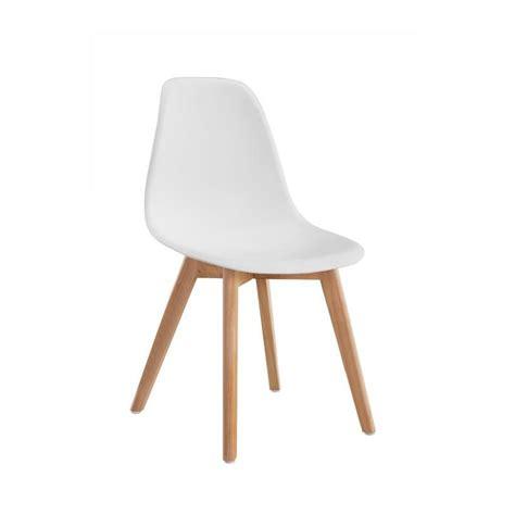 chaise de salle à manger design sacha chaise de salle a manger design scandinave blanc