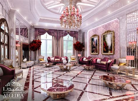 women majlis design  interior decoration  algedra