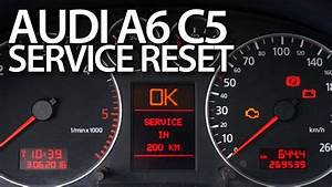 How To  Reset  Service Reminder In  Audi  A6  C5 Oil Inspection  Maintenance U2026