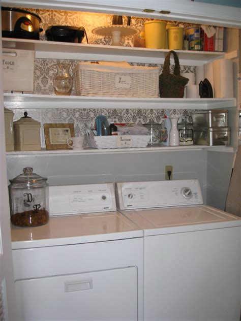 laundry room shelving ideas  small spaces