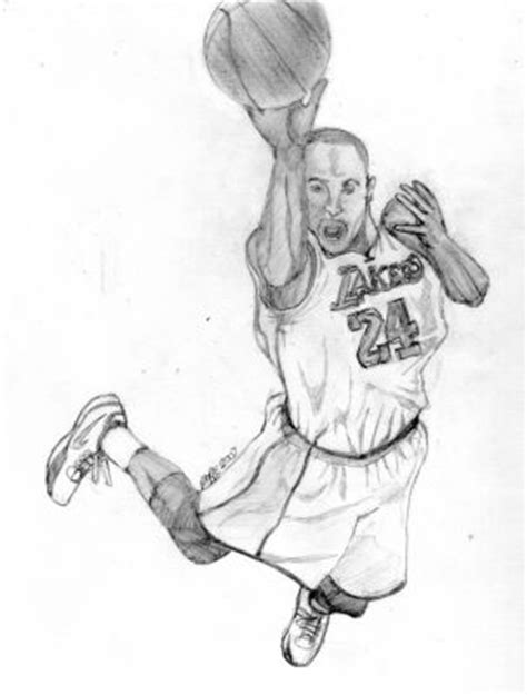 Kobe Bryant - Free Coloring Pages