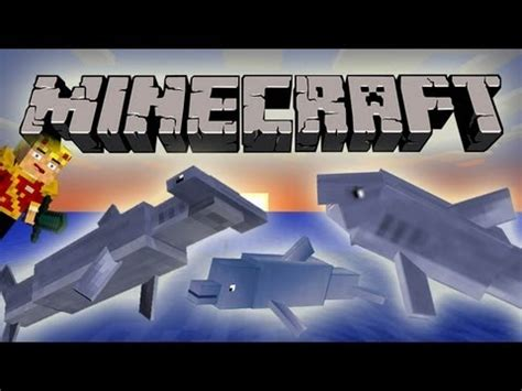 minecraft sharks dolphins water mobs mob   day