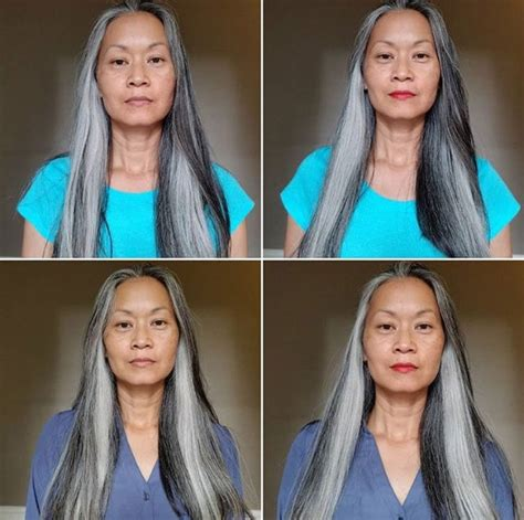 Going Gray Are You Thinking About It by Terry S Lovely Gray Hair