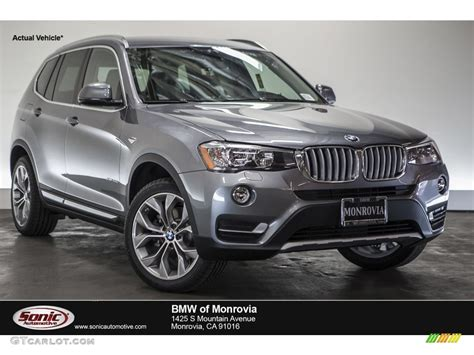 Bmw Space Grey by 2016 Space Grey Metallic Bmw X3 Xdrive28d 109113958 Photo