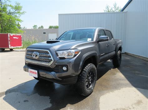 toyota lifted 2016 toyota tacoma trd sport with a lift kit irwin
