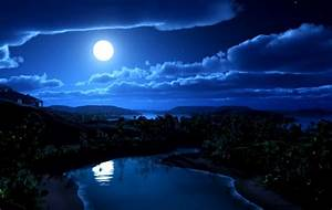 Amazing Blue Night Sky | Important Wallpapers