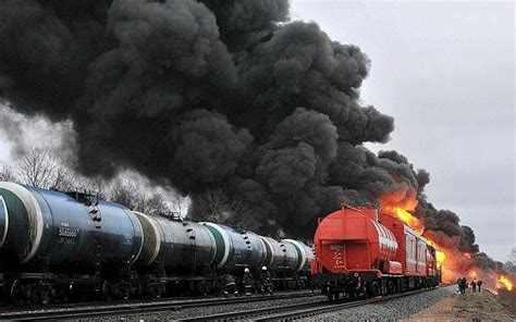 Latvia Train Crash Causes Fuel Tank Explosion