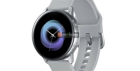 samsung galaxy sport smartwatch render suggests no rotating bezel ui