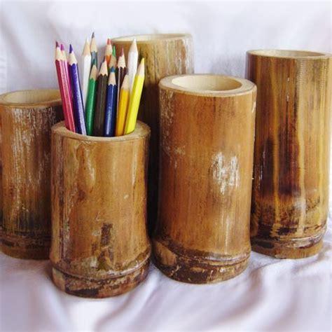 bamboo pencil holder tropical art florida coconuts store