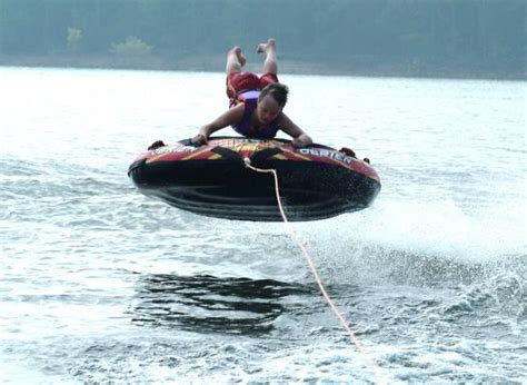 Boat Tubes That Spin by Tubing With A Spin Defyinggravity