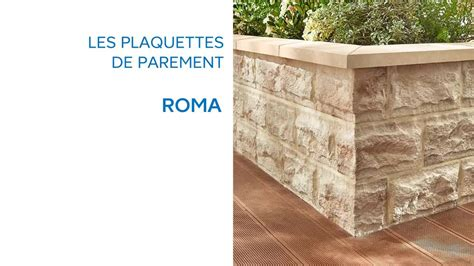 plaquette de parement roma 677316 castorama