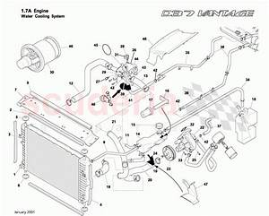 Aston Martin Db7 Vantage Water Cooling System Parts