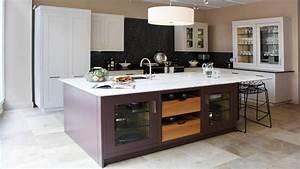 ilot central cuisine cuisine en image With meuble de cuisine ilot central