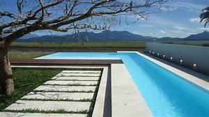 Piscine Liner Blanc : piscine de r ve br sil galerie photos desjoyaux ~ Preciouscoupons.com Idées de Décoration