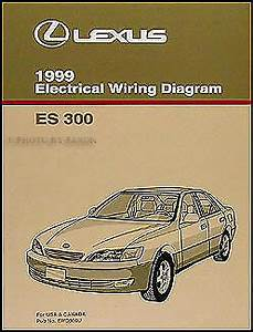 1999 Lexus Es 300 Wiring Diagram Manual Original Es300