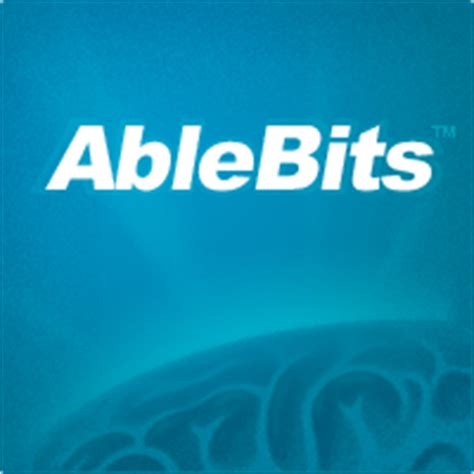 excel add ins  outlook tools ablebitscom