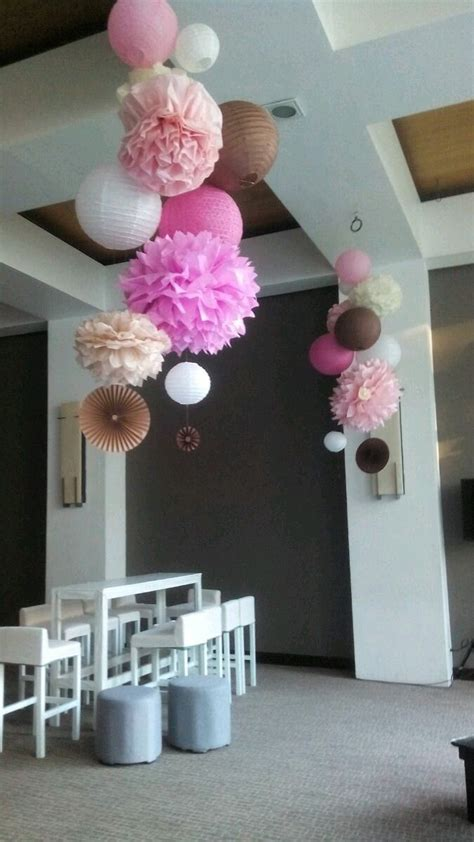 opciones llamativas  decorar una fiesta  pompones