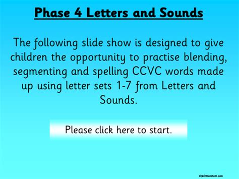 Phonics  Letters And Sounds, Phase 4 Cvcc Words, Pack 1 By Jessplex  Teaching Resources Tes