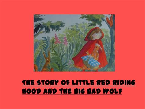 Little+red+riding+hood+story