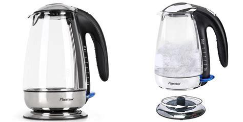 schott cuisine bestron glass electric kettle